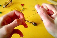 Правила изготовления донки для ловли карася