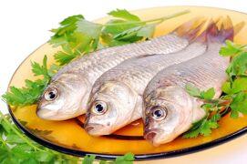 Как меняется показатель калорийности карася в ходе приготовления