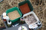 Выбор прикормки с насадкой для карповой ловли