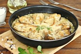 Варианты блюд из щуки со сметаной