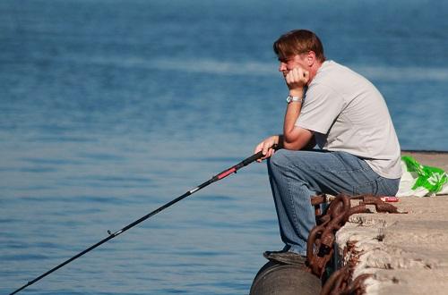 как мужики ловят рыбу