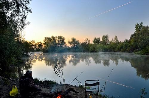 рыбалка с утра