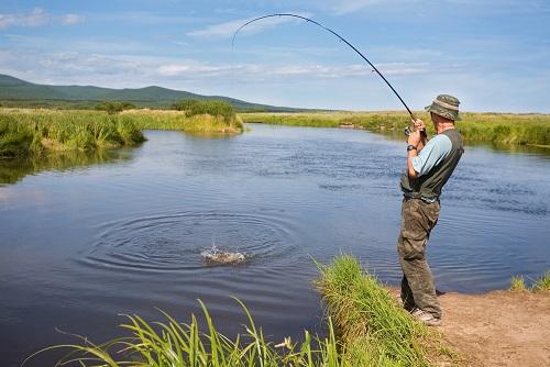 рыбалка в мае