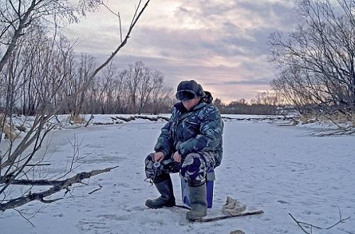 место ловли зимой