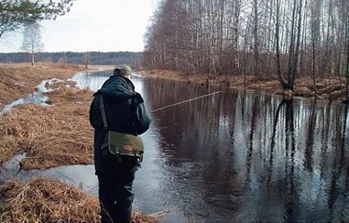 рыбалка в начале весны