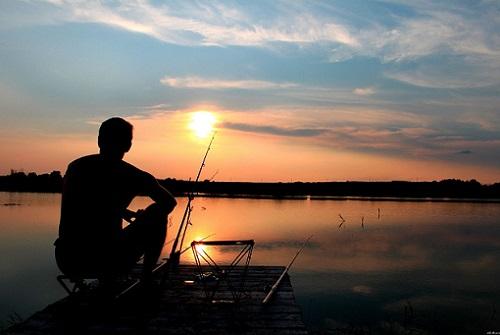 рыбалка вечером