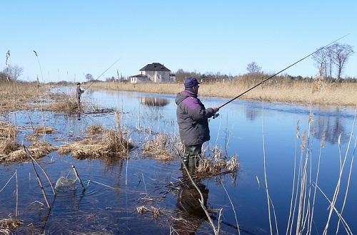 все про рыбалку весной