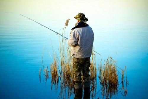 место рыбалки