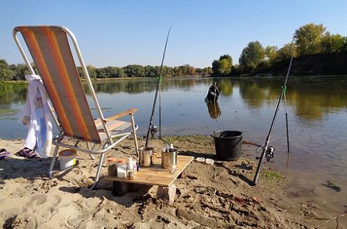 рыбалка в жару