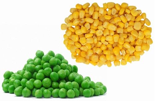 горошек с кукурузой