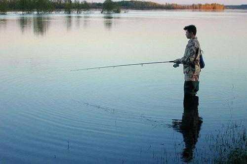 май и рыбалка