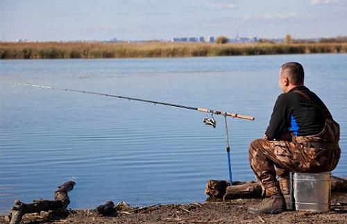 место для рыбака