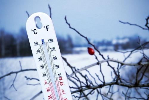 температура зимой