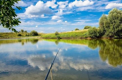река и рыбалка