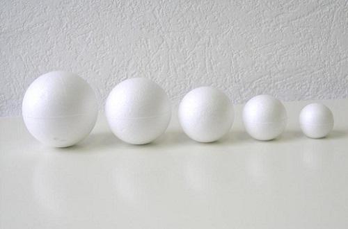 шарики пенопласта