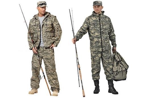 камуфляжный костюм рыбака