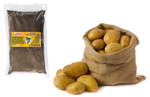 Жмых и картошка