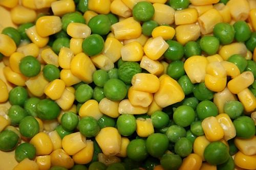 кукуруза с горохом