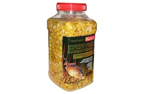 распаренная кукуруза