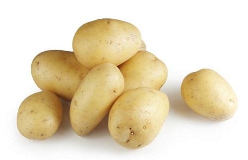 свежая картошка
