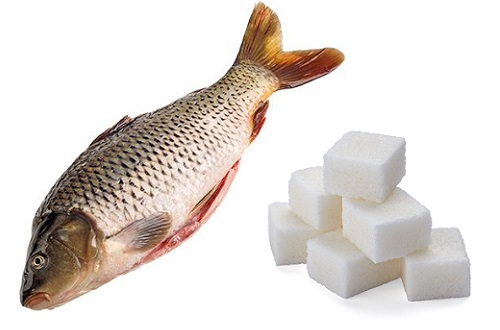 карп и сахар