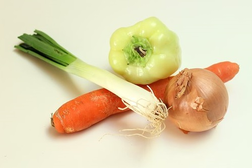перец морковь лук