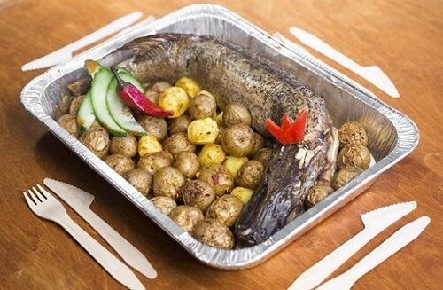 щука и картошка