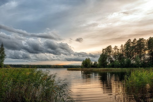 погода на озере