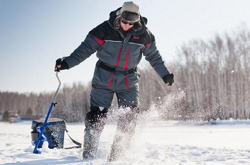зима и рыбалка